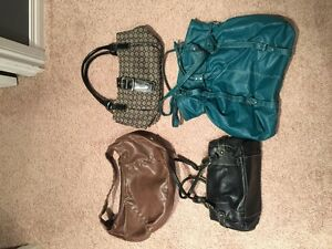 Variety of purses for sale