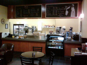 Coffee & Sandwich Shop For Lease / Sale
