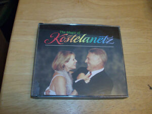 CD SET THE MAGIC OF KOSTELANETZ Windsor Region Ontario image 1