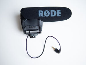 Rode VideoMic Pro R with Rycote Lyre Shockmount