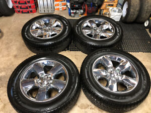 2018 Ram 1500 rims and tires