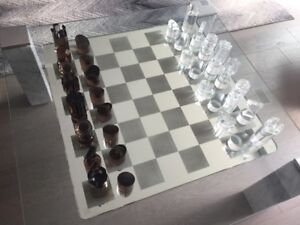 High End Ultra Modern Chess Set