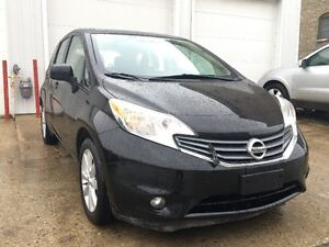 2014 Nissan Versa SL Hatchback, back-up camera, ready to go