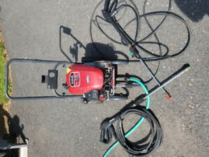 2200 psi 158cc 1.9gpm gas pressure washer
