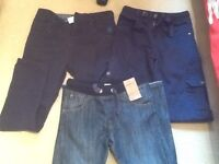 Boys jeans and trousers Age 11