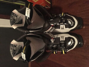 Set of skis and boots for sale