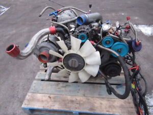 JDM MAZDA RX7 13B-T ENGINE UPGRADED TURBO IHI , RACING CLUTCH