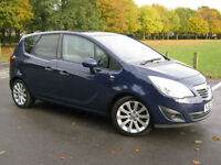 2012 62 REG Vauxhall Meriva 1.7CDTi 16v ( 110ps ) ( a/c ) AUTOMATIC SE