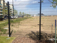 Welded Wire Mesh Ornamental Metal Mesh Construction Fence Panels