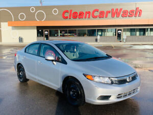2012 Honda Civic EX with smart remote starter/GPS locate system