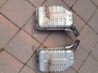 AUDI MUFFLERS (From Stock 1.8T,Audi/Vw)