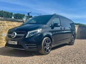2019 ( 69 ) Mercedes-Benz V 220 D AMG LINE AUTO Executive MPV Black 8 seats