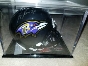 Ray Rice Autographed mini helmet