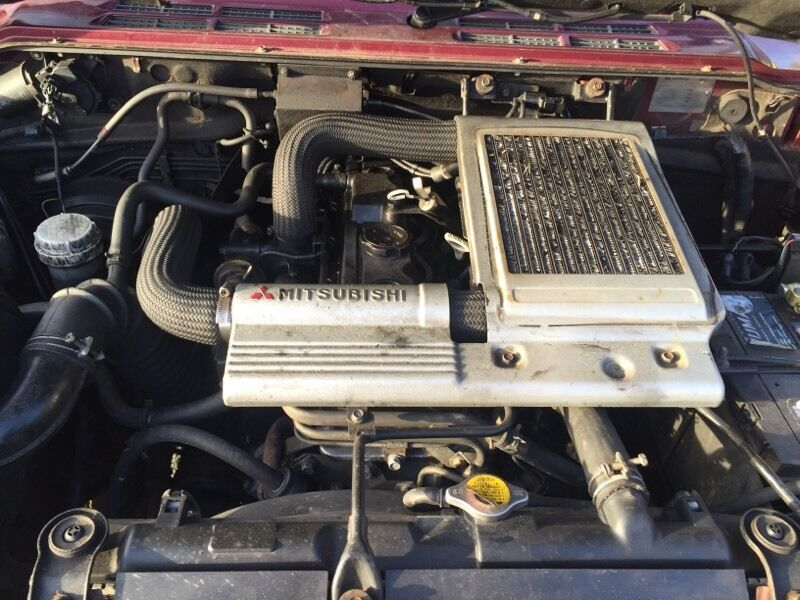 Mitsubishi 4m40 2.8 turbo Diesel engine for shogun pajero ...
