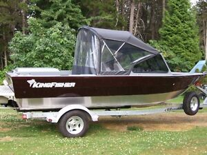 2016 1875 Kingfisher Falcon XL Jet Boat never used