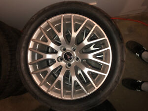 """19"""" mustang track pack rims"""
