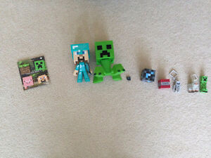 Assorted Minecraft Merchandise