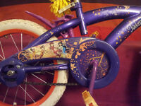16 inch girls tinkerbell Huffy bike