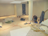 carpet  repairs and  stretch of any existing carpet