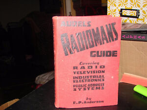 Audels radiomans guide;: Covering theory,construction, & service Strathcona County Edmonton Area image 1
