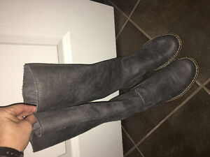 Brand Name Leather Boots