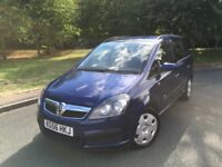 VAUXHALL ZAFIRA LIFE CDTi DIESEL --- 7 SEATER --- 1 FORMER KEEPER --- LOW MILES --- FREE DELIVERY