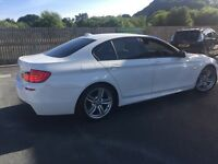 BMW 520d M SPORT in WHITE