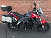 NEW Sinnis Terrain 125 learner legal, own this bike for only £13.60 a week