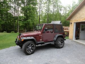 2003 Jeep TJ Automatique A/C
