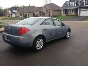 mint 2007 Pontiac G6 Sedan $2600 located Dieppe