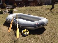 Avon Redcrest 9 ft hypalon inflatable dinghy