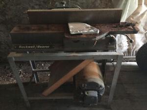 Dégauchisseuse (corroyeur) de 6 pouces   Rockwell