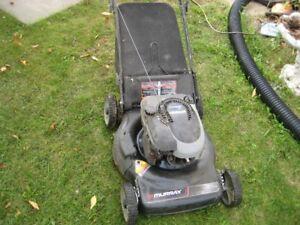 gas lawnmower
