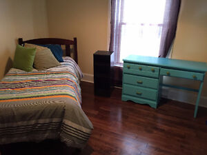 Bedroom Set (Bed, Desk, Dresser, Shelf)
