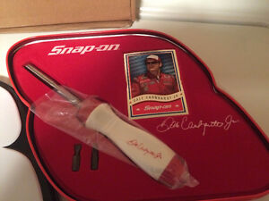 Snap-on Dale Earnhardt Jr Ratcheting Screwdriver in Tin - RARE