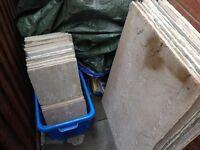 Sandstone Raj paving slab slabbing tiles Calibrated contractor approx 6m2 surplus