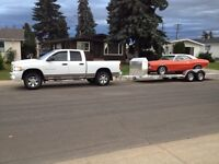 Truck and Hauler for Hire