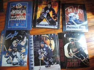 lot de 12 hockey NHL 1994 16x20 poster