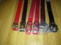 Belts for sale! *Reduced to Clear*