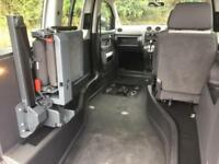 2014 Volkswagen Caddy Life 1.6 TDI 5dr DSG AUTO UPFRONT WHEELCHAIR ACCESSIBLE...