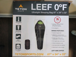 Ultralight sleeping bag, Teton, Leef 0°F (-18°C)