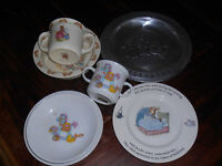 Beatrix Potter baby dishes