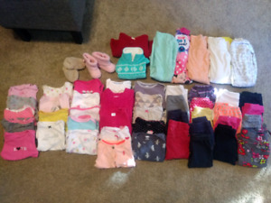 Box of Baby Clothes