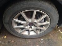 "Saab 16"" Alloy Wheels with Tyres"