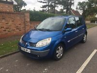 RENAULT SCENIC 2006 AUTO 60k 5 DOOR 1.6 LONG MOT DRIVES LOVELY VERY CLEAN CAR
