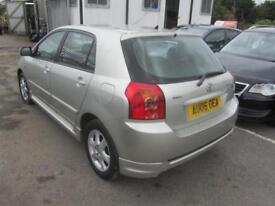 2006 Toyota Corolla Hatch 5Dr 1.6VVTi 109 Colour Collection Petrol silver Manual