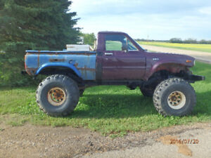 toyota 4x4  offroad lifted winch boggers