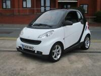 09 Smart fortwo 1.0 Pulse MHD STOP/START + 58K FSH + £20 TAX