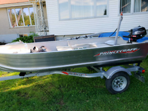 Boat+ trailer and 2.5hp motor
