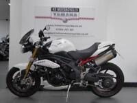 12 REG TRIUMPH SPEED TRIPLE R 1050 ABS 1 PREVIOUS OWNER VERY LOW MILES OHLINS